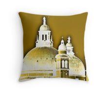 Domes Throw Pillow
