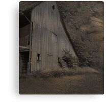 The Empty Barn Canvas Print