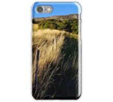 Rural landscape in the Oule Valley iPhone Case/Skin