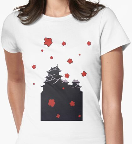 Japanese Cherry Blossom - Nathan Dukes Womens Fitted T-Shirt