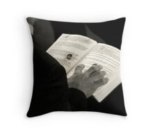 The keeper of the rings Throw Pillow