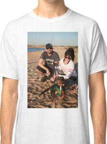 33. Alana & her King Charles/ Mini Foxy, Charlie Classic T-Shirt