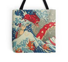 The Great Wave off Kanto - Shiny Version Tote Bag
