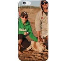 34. Peta & Joel with Bonnie the Cattle Cross iPhone Case/Skin