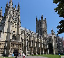 Canterbury Cathedral, Kent by Carole-Anne