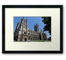 Canterbury Cathedral, Kent Framed Print