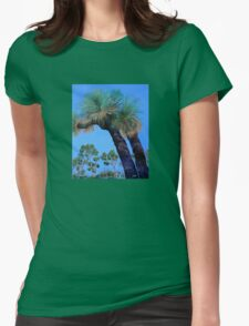 Grass Tree Cunningham's Gap Queensland  Womens Fitted T-Shirt