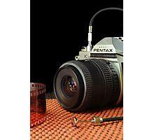 Photographer on Duty Photographic Print