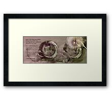 Hope Is the Thing With Feathers ll Framed Print