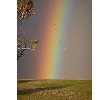 Aussie Rainbow Photographic Print