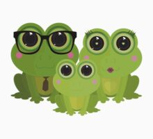 Frog Family Kids Clothes