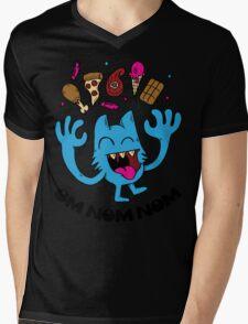 om nom nom Mens V-Neck T-Shirt