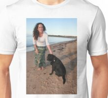 25. Winsome & her Cattle Dog-Labrador Unisex T-Shirt