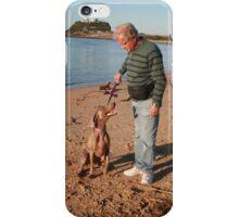 24. Don & his wife's Weimaraner iPhone Case/Skin