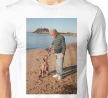 24. Don & his wife's Weimaraner Unisex T-Shirt