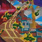 City landscapes : Outward bound by Lozzar Flowers & Art