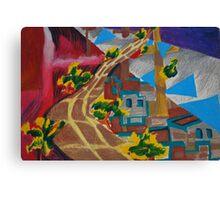 City landscapes : Outward bound Canvas Print