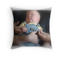 Four Generations Throw Pillow