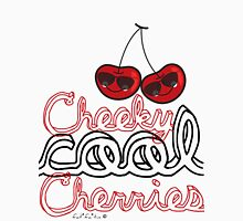 Cheeky Cool Cherries T-shirt Womens Fitted T-Shirt