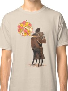 Speak Happy Thoughts. Classic T-Shirt