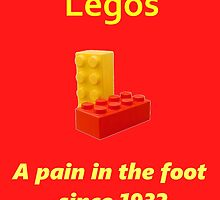 Legos - Destroying Feet by TheLostHope