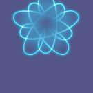 BLUE ATOM by scholara