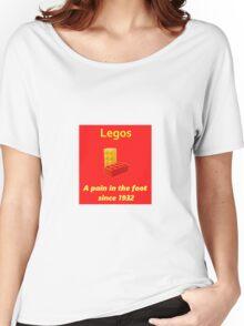 Legos - Destroying Feet Women's Relaxed Fit T-Shirt