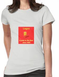 Legos - Destroying Feet Womens Fitted T-Shirt