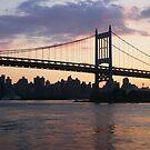 RFK/Triborough Bridge by Bernadette Claffey