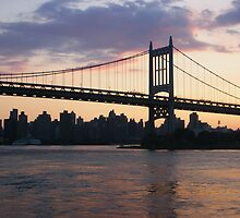 RFK/Triborough Bridge by Bernadette Claffey