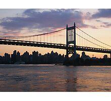 RFK/Triborough Bridge Photographic Print