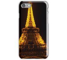 night time in paris iPhone Case/Skin