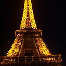 night time in paris by sharon wingard