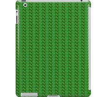 Green knitted pattern.  iPad Case/Skin