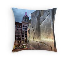 Past and Present at Night Throw Pillow