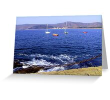 Peaceful Bay Greeting Card