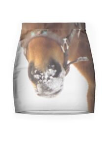 Winter Horse Mini Skirt