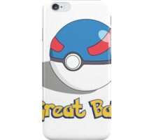 The Great Ball iPhone Case/Skin