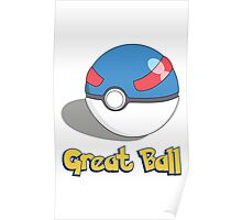 The Great Ball Poster