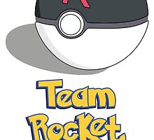The Team Rocket Ball by EdenApparel
