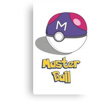 The Master Ball Canvas Print