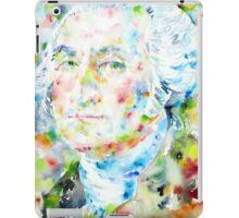 GEORGE WASHINGTON - watercolor portrait iPad Case/Skin