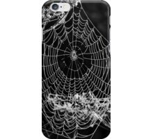 Dewy spiders' webs iPhone Case/Skin
