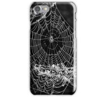 Dewy spiders' webs iPhone Case/Skin
