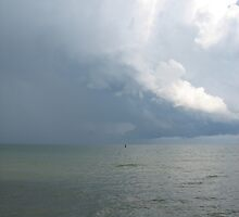 Sea and cloud by Tanja Katharina Klesse