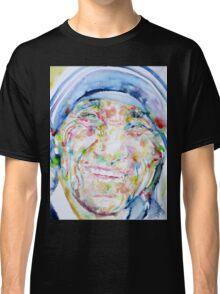 MOTHER TERESA - watercolor portrait Classic T-Shirt
