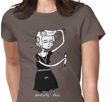 Trichotillomania Chic. Womens Fitted T-Shirt