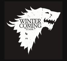 Game Of Thrones- Winter is coming  by WAGarmentSupply