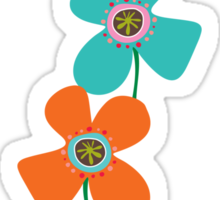 Fun Daisies Pop T-shirt Sticker