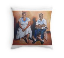 Ella Fitzgerald & Louis Armstrong Throw Pillow